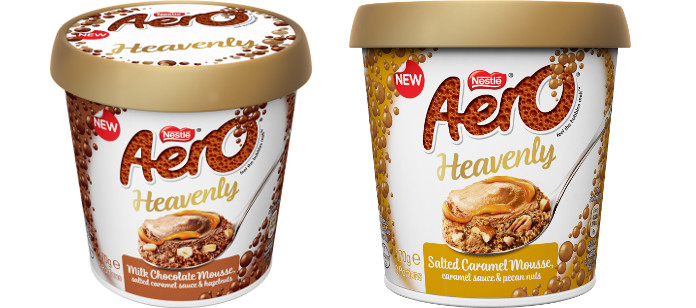 Food Spotlight: LACTALIS NESTLÉ BRINGS INDULGENCE TO THE CHILLED DAIRY AISLE WITH NEW AERO® HEAVENLY MOUSSE