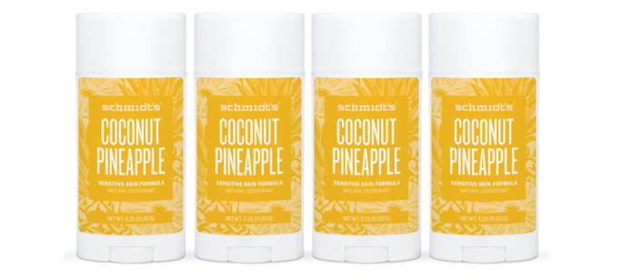 Skin Care Spotlight: Schmidt's Sensitive Skin Deodorant Stick – COCONUT PINEAPPLE