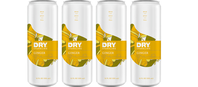 Drink Spotlight: New Ginger DRY Sparkling Cans