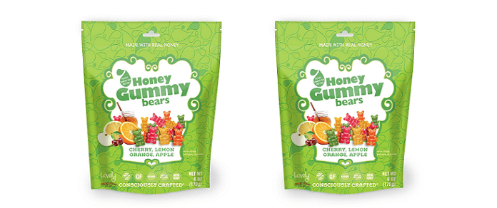 Candy News: The Lovely Candy Company® Pioneers Honey Gummies