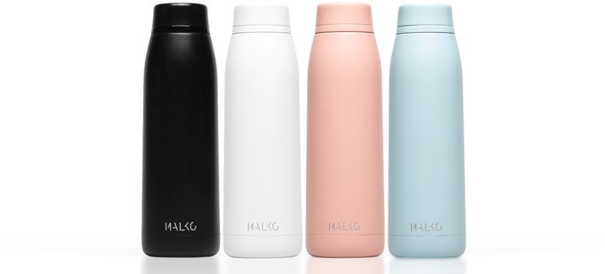 Crowdfunding Spotlight: Malko Bottle™- Functionality meets Design