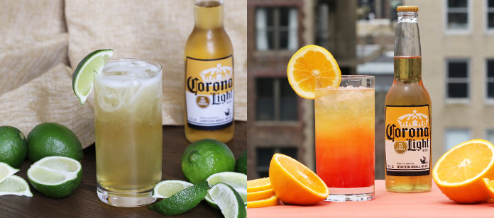 Recipe Spotlight: Corona Light festive beertail recipes
