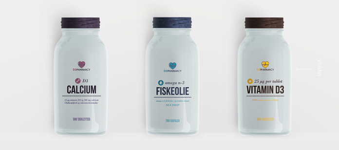 Packaging Spotlight: D3 Pharmacy Branding