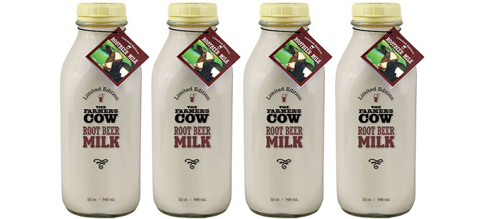 Dairy Drink Spotlight: The Farmer's Cow Limited Edition Root Beer Milk