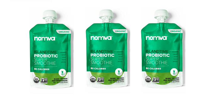 Snack Spotlight: NOMVA Island Time Probiotic Smoothie