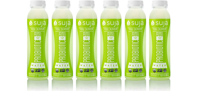 Drink Spotlight: Suja Organic Pressed Ginger Lime Probiotic Water