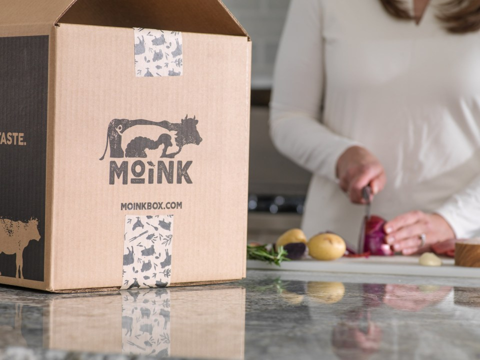 MOINK deliver boxes of humanely raised and ethically sourced wild caught salmon, grass fed beef, pastured pork, grass-fed lamb & pastured chicken straight to your doorstep. (PRNewsfoto/Moink)