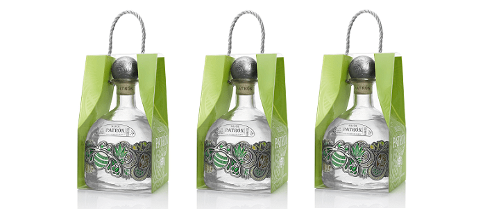 Packaging Spotlight: Patrón Tequila Perfects Holiday Gift Giving with Patrón Silver One-Liter Limited Edition Bottle