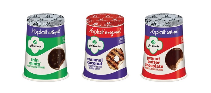 Yoplait introduces Girl Scout Cookie-inspired yogurt (PRNewsfoto/Yoplait)