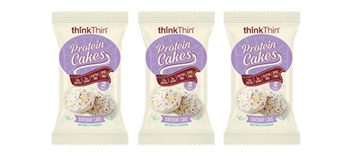 Snack Spotlight: thinkThin Birthday Cake