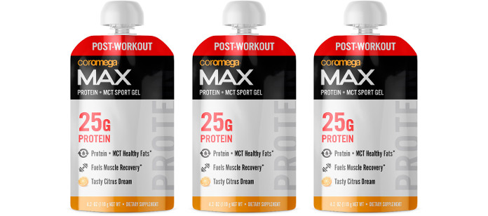Supplement Spotlight: Coromega MAX Protein + MCT Sport Gel
