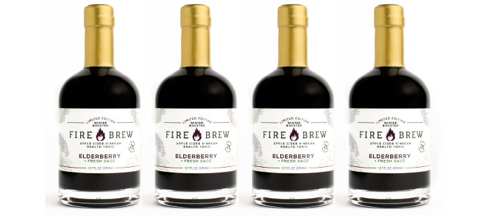Drink Spotlight: Mind Your Manna Fire Brew Elderberry and Fresh Sage Seasonal Blend