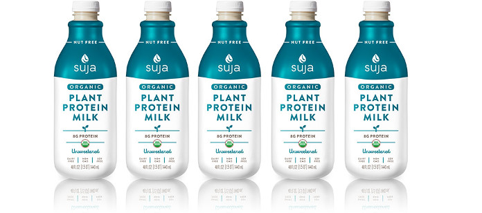 Drink Spotlight: Suja Juice Unsweetened Plant Protein Milk