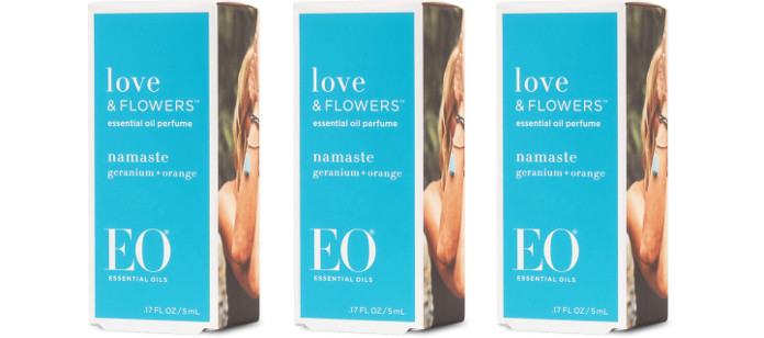 Skin Care Spotlight: EO Love & Flowers Namaste Perfume