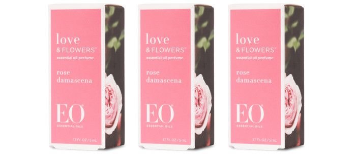Skin Care Spotlight: EO Love & Flowers Rose Damascena Perfume