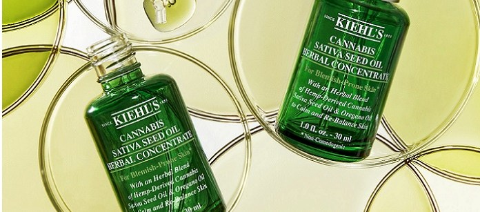 Skin Care Spotlight: Kiehl's Since 1851 Introduces Herbal Treatment For Problem Skin, With Cannabis Sativa Seed Oil