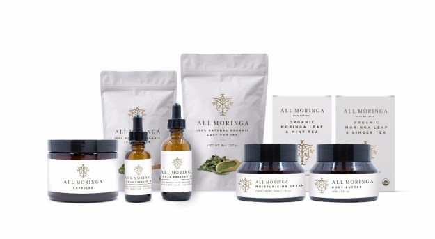 Introducing the organic Moringa Oleifera product line, herbal supplements and skin care products.