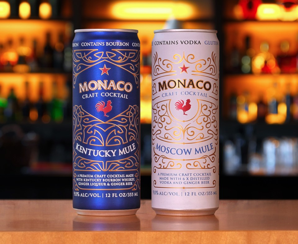 Atomic Brands launches new cocktails in Ardagh cans. (PRNewsfoto/Ardagh Group)