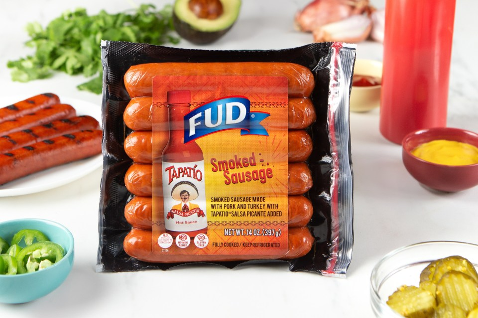 Tapatío and FUD sausage collaboration.