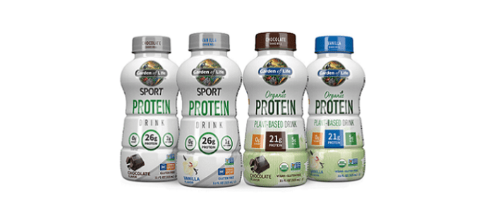 Supplement Drink Spotlight: Garden Of Life® Launches Line Of Clean Protein Drinks