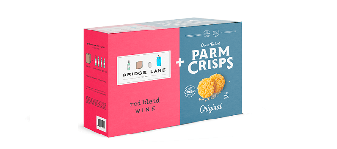 Industry News: ParmCrisps and Bridge Lane Wine Debut Premium Partnership Box that Supports Small Businesses