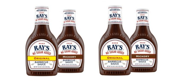 From the makers of Sweet Baby Ray's comes a new line of No Sugar Added barbecue sauces that are actually worth eating. No Sugar Added Original and Hickory flavors are available nationwide. They contain just 1g sugar per serving from naturally occuring sources.