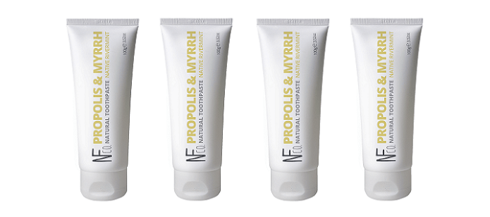 Oral Care Spotlight: The Natural Family Co. Propolis & Myrrh Toothpaste