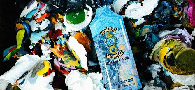 Packaging Spotlight: BOMBAY SAPPHIRE® Gin Collaborates With Hebru Brantley To Launch First-Ever Artist Designed Bottle