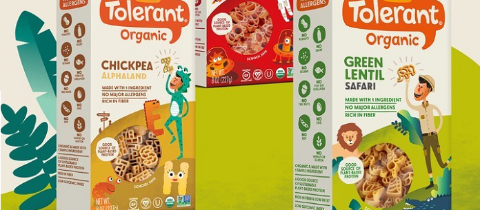 Food Spotlight: Tolerant® Launches New Line of Organic Plant-Based Pasta for Kids