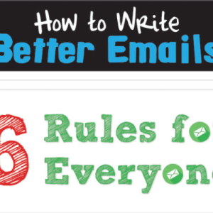 6 Rules for Writing Better Emails (Infographic)