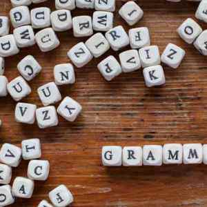 Origin of the Word Grammar