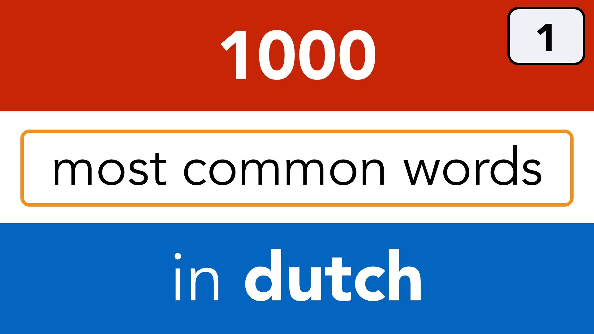 How to Learn Dutch forecast