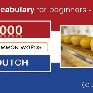 LEARN Dutch Lesson 4 - Food