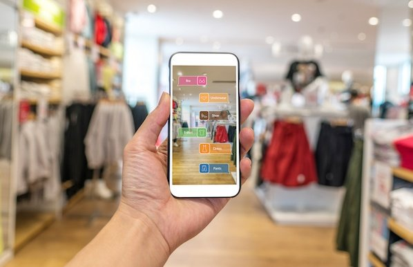 retail store augmented reality app