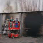Brandschädenreinigung von Trockeneisstrahlen Leipzig