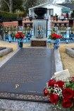 Elvis' Grab im Garten von Graceland