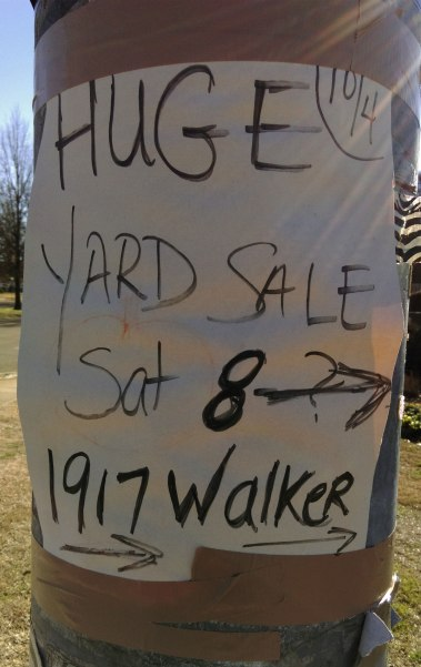 Yard Sale Memphis Second Hand