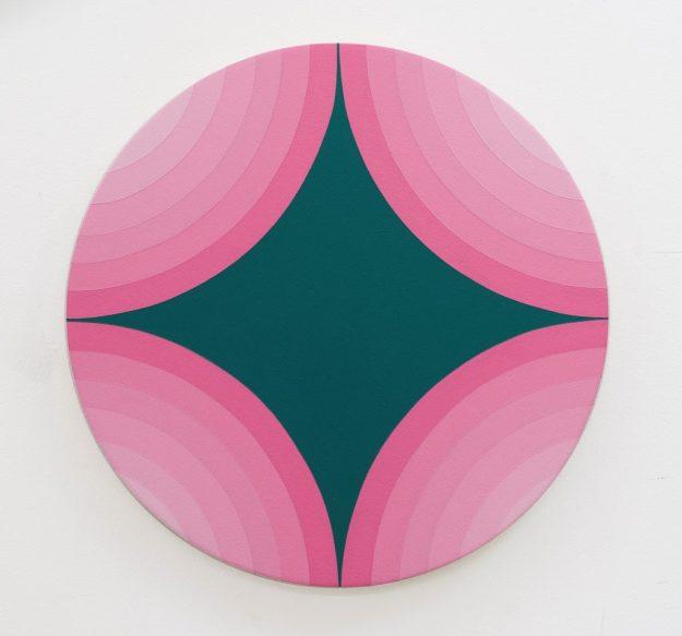 4 Circles Make A star, Pink Version