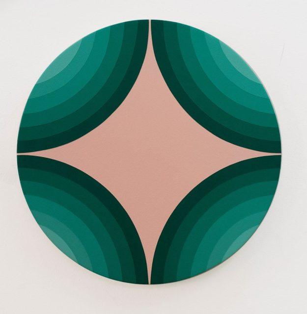 4 Circles Make A star,  Green Version
