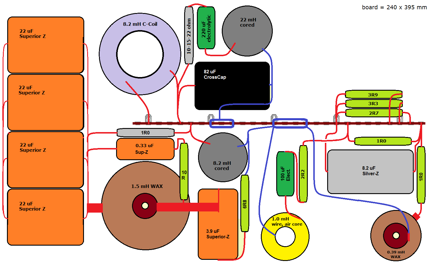 3 way speaker crossover wiring diagram icp torch in dbx graphic