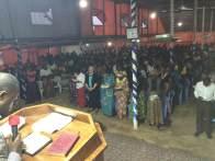 Møte tirsdag kveld i Lubumbashi, Kongo