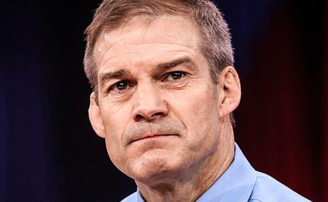 Jim Jordan Is Furious That Democrats Want To Stop Voter