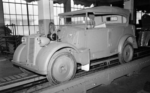 Fiat 508CM Factory Plant Italy