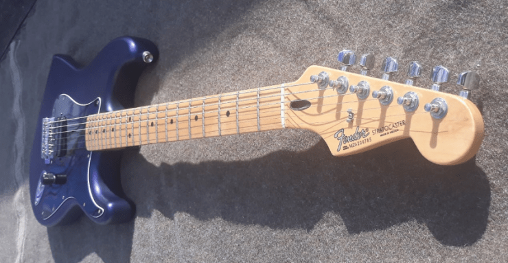 Fender Standard Stratocaster Satin MIM – The Trogly's Guitar