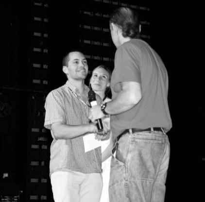 Christian Vialard reçoit sont prix