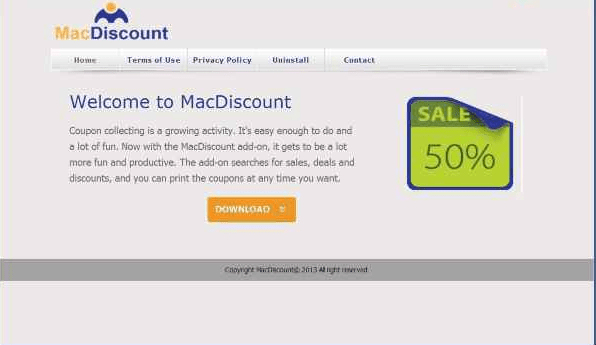 mac discount ads