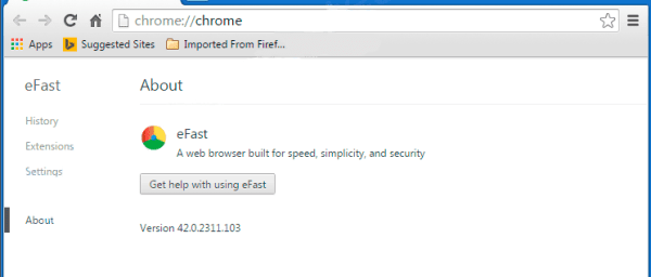 eFast browser
