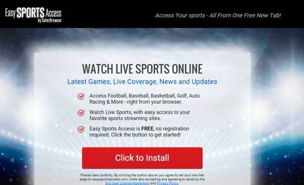 Easy Sports Access