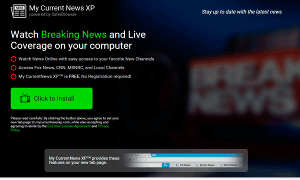 My Current News XP