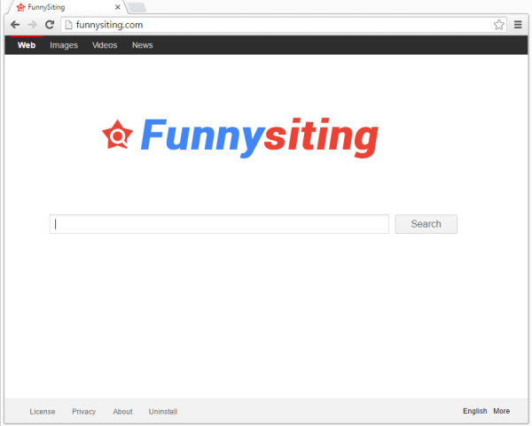 remove Funnysiting.com